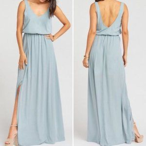 Show Me Your Mumu Kendall Sage Maxi Dress